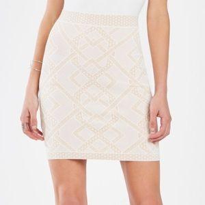 BCBGMaxAzria Pavel Knit Jacquard Power Skirt